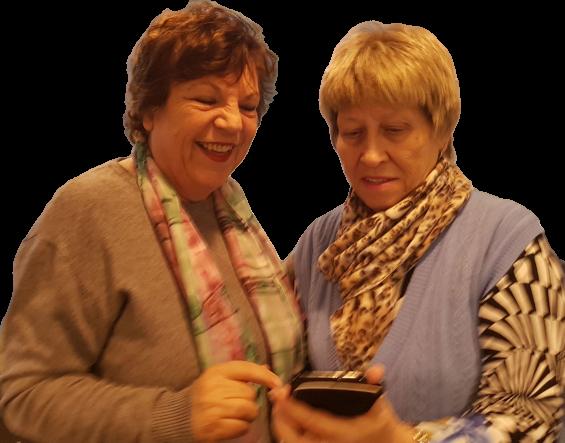 Probleme mit dem Smartphone lösen mit Roswitha Uhde - Kennenlerngespräch vereinbaren