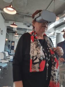 Ganz neue Erfahrung mit der VR-Brille von Facebook im DLZ