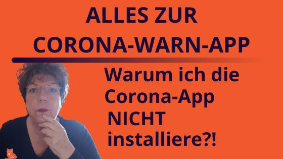 Alles zur Corona-App