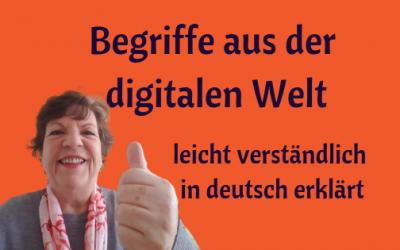 Begriffserklärungen leicht und verständlich in deutsch