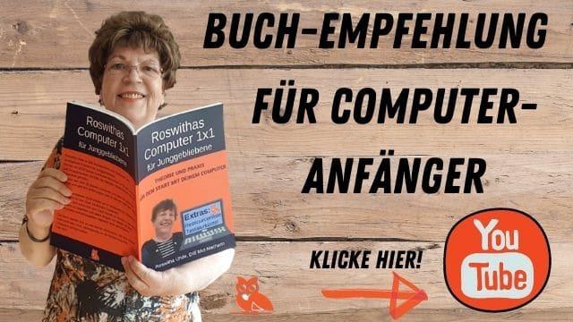 Video-Vorschau Buchempfehlung Computer 1x1