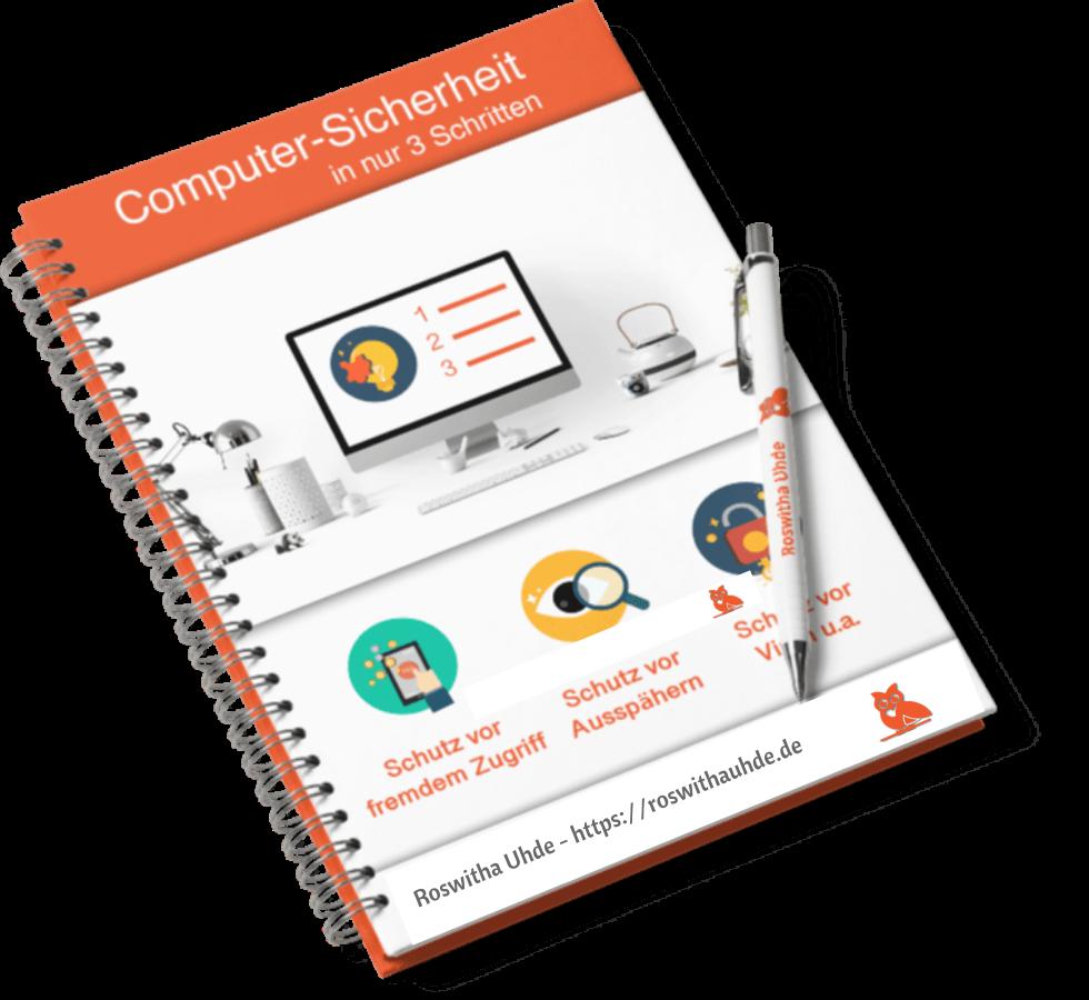 """E-Book """"Computer-Sicherheit in nur 3 Schritten"""""""