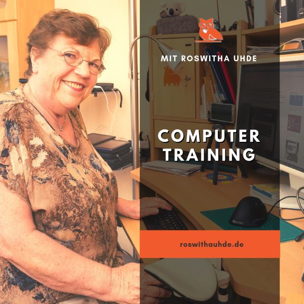 Computer-Training mit Roswitha Uhde