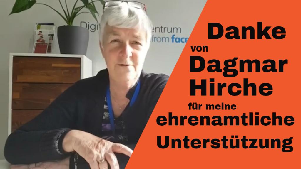 Dankeschön von Dagmar Hirche für Roswitha