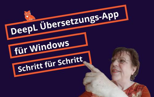 DeepL Übersetzer-App für Windows