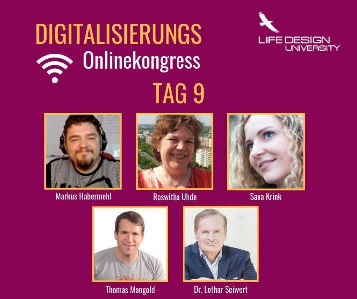 Digitalisierungs-Online-Kongress 2018 von Jana Misar mit vielen Interviews