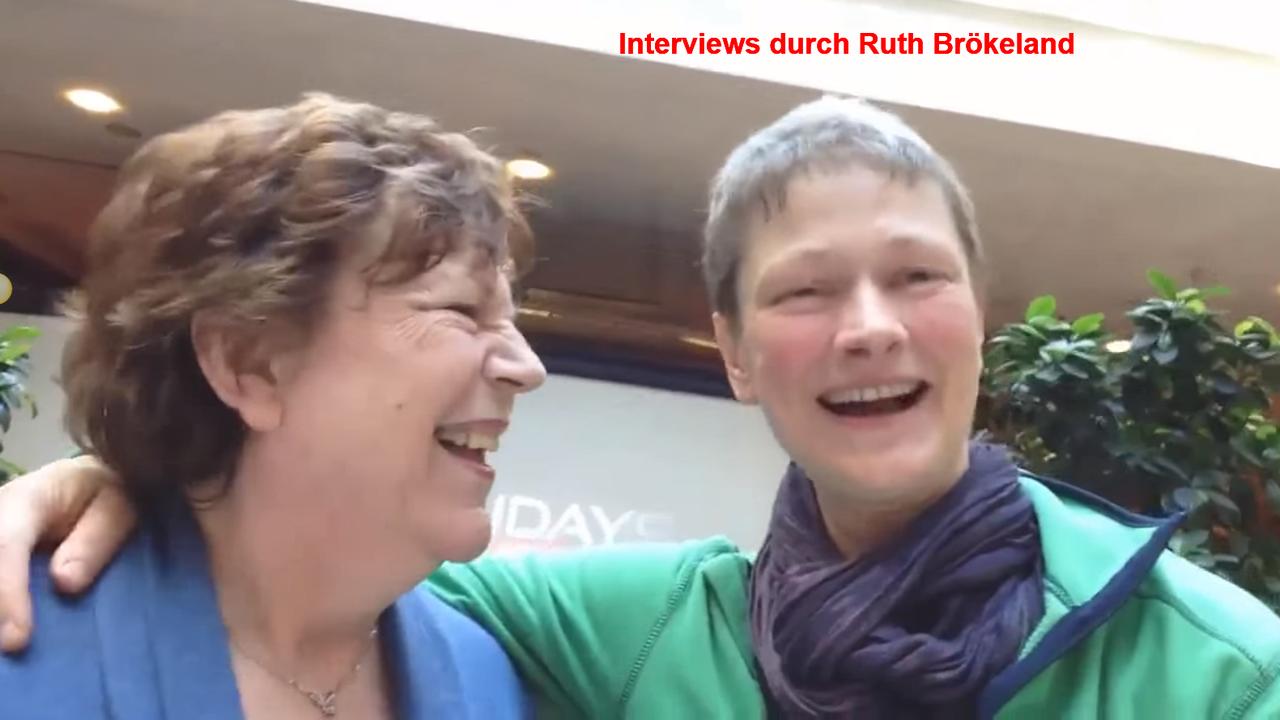 Interviews durch Ruth Brökeland mit Ralf Schmitz, Roswitha Uhde und Ivan Galileo