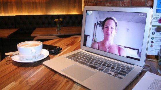 Per Skype in Verbindung bleiben