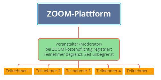 ZOOM Pro kostenpflichtig Teilnehmer begrenzt Zeit unbegrenzt