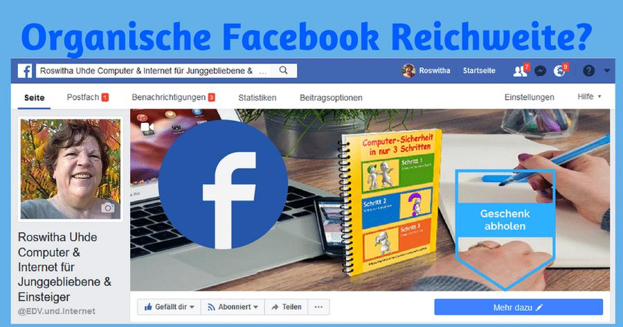 organische Facebook Reichweite